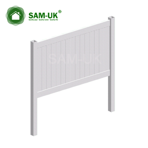 How To Install A Double Vinyl Gate Sam Uk