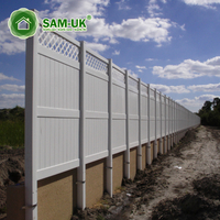 7 feet tall heavy duty tongue and groove vinyl private fence