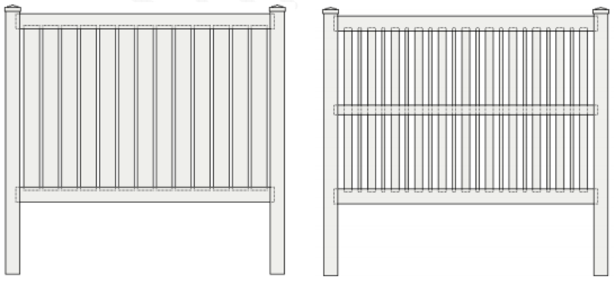 How To Install Vinyl Semi Private Fence