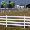 16 ft 4 rail vinyl horse fencing cost effective