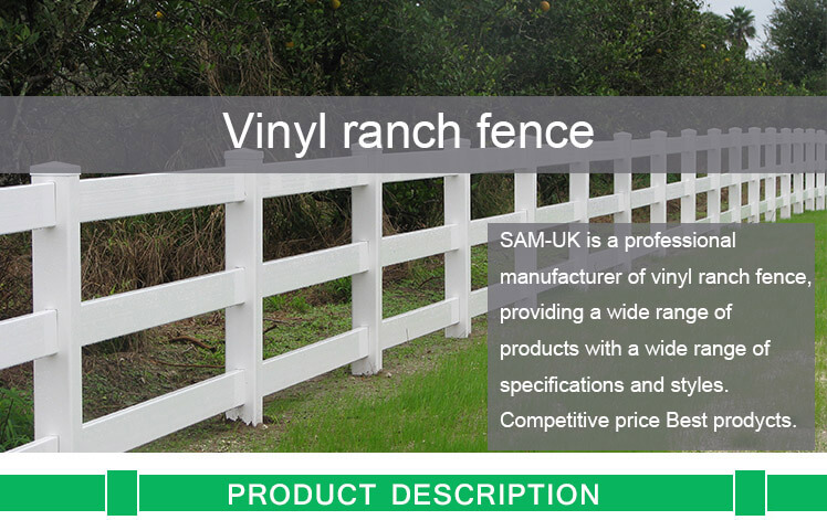 vinyl ranch fencing