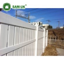 Decorative lattice fence PVC fence