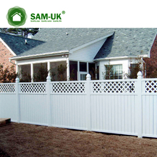 PVC Semi-Privacy Fence/ASTM Standard hot-selling vinyl fence