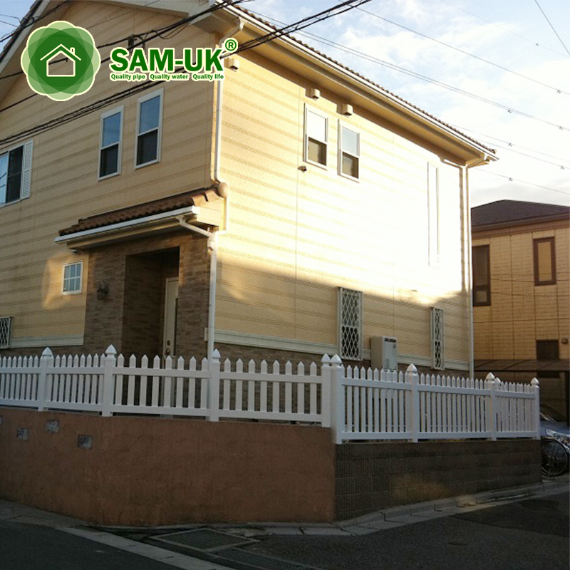 Free Standing Expandable Portable Vinyl Semi Privacy Fence