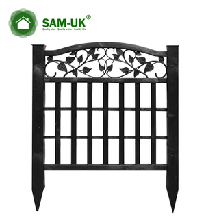 Small Popular Design PVC Garden Fence