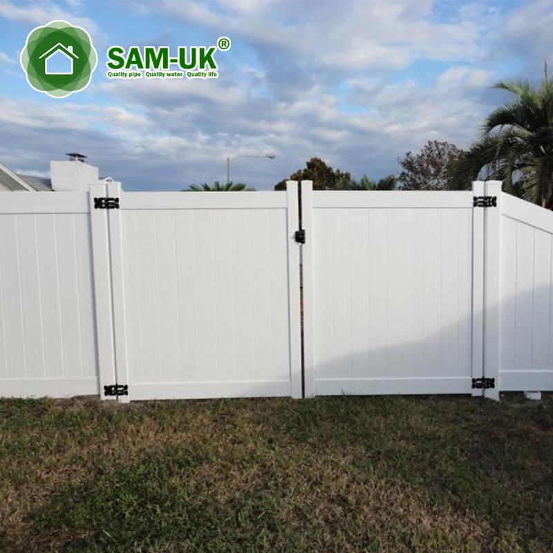 Pvc Vinyl Panel Garden Privacy Fence