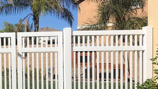Cost Effective Low Price Composite Picket Fence
