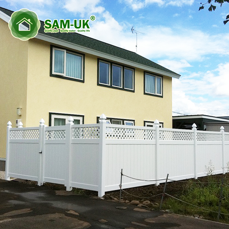Panel Garden Privacy Fence Plastic Small Garden Fence