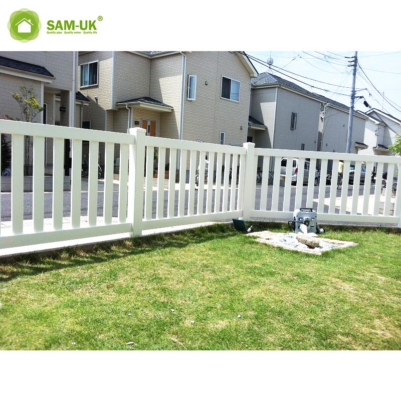 Vinyl Slats Panel Privacy Fence Pvc Plastic Picket Fence