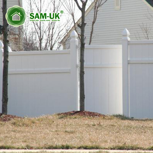 Home Use Decoration Garden Fencing Retractable Outdoor Vinyl Fence